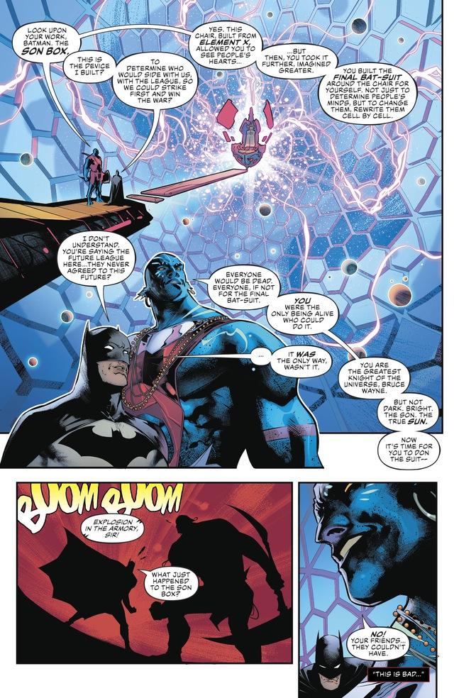 Top 6 bộ giáp siêu khủng mà Batman từng sở hữu, khủng khiếp không kém Iron Man - Ảnh 11.