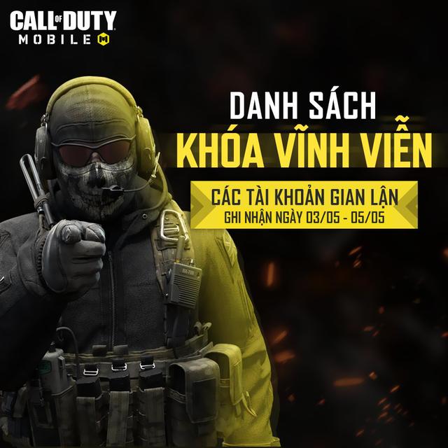 Chưa đầy ba tuần sau khi ra mắt, số lượng tài khoản Call of Duty: Mobile VN bay màu vì hack khiến game thủ ngỡ ngàng - Ảnh 1.