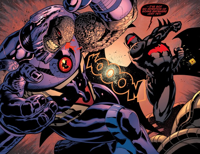 Top 6 bộ giáp siêu khủng mà Batman từng sở hữu, khủng khiếp không kém Iron Man - Ảnh 10.