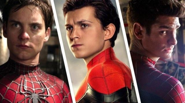 Đáng lẽ 3 phiên bản Spider-Man của Tom Holland, Tobey Maguire và Andrew Garfield đã có dịp hội ngộ trong Into the Spider-Verse - Ảnh 2.