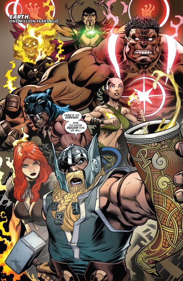 Marvel hé lộ thêm hai đội Avengers nữa, đến từ quá khứ và tương lai xa - Ảnh 1.