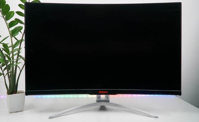 AOC AGON AG322FCX1 - Màn hình 32 inch to đùng siêu mượt mà cho game thủ - Ảnh 1.