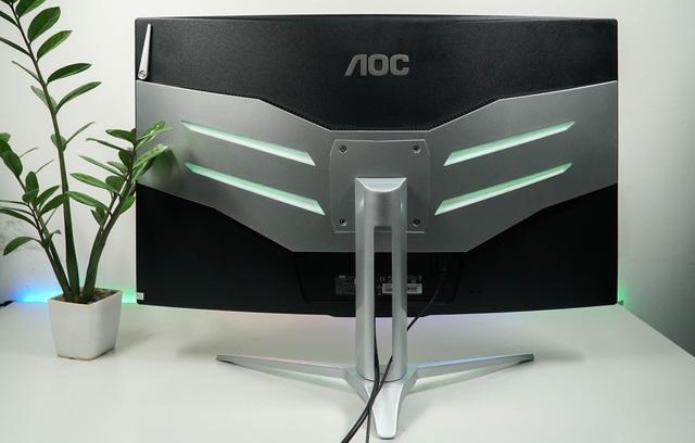 AOC AGON AG322FCX1 - Màn hình 32 inch to đùng siêu mượt mà cho game thủ - Ảnh 2.