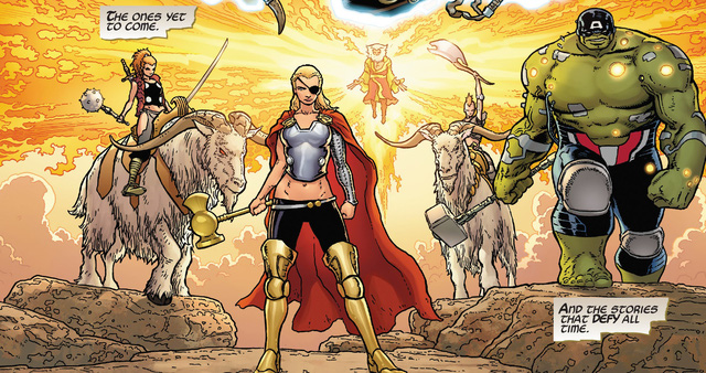 Marvel hé lộ thêm hai đội Avengers nữa, đến từ quá khứ và tương lai xa - Ảnh 9.