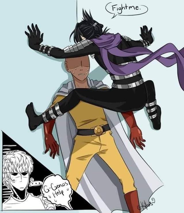 Các nhân vật anime rủ nhau bắt trend Người Nhện bám dính trên tường vô cùng hài hước - Ảnh 15.