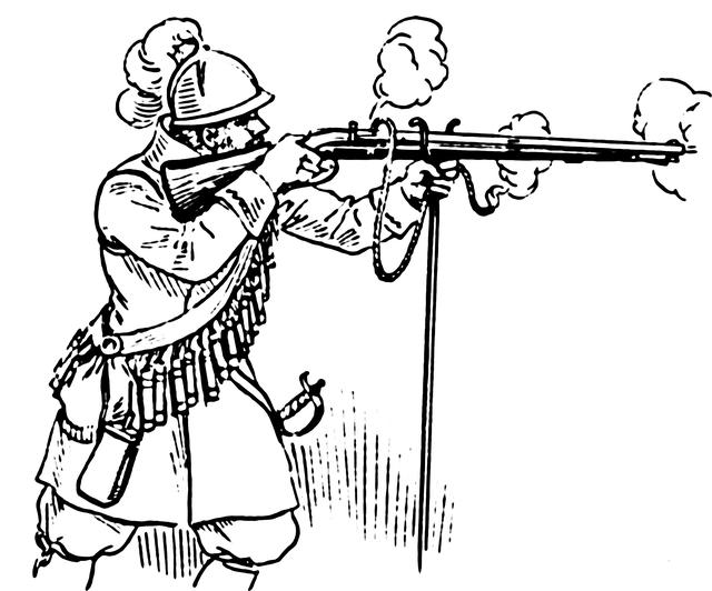 Matchlock Arquebus - Loại súng hỏa mai đầu tiên trên thế giới - Ảnh 1.