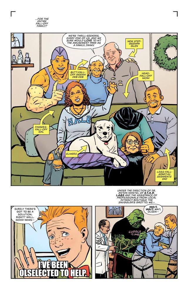 DC giới thiệu gia đình của Arm-Fall-Off Boy, siêu anh hùng vô dụng bậc nhất của hãng - Ảnh 4.