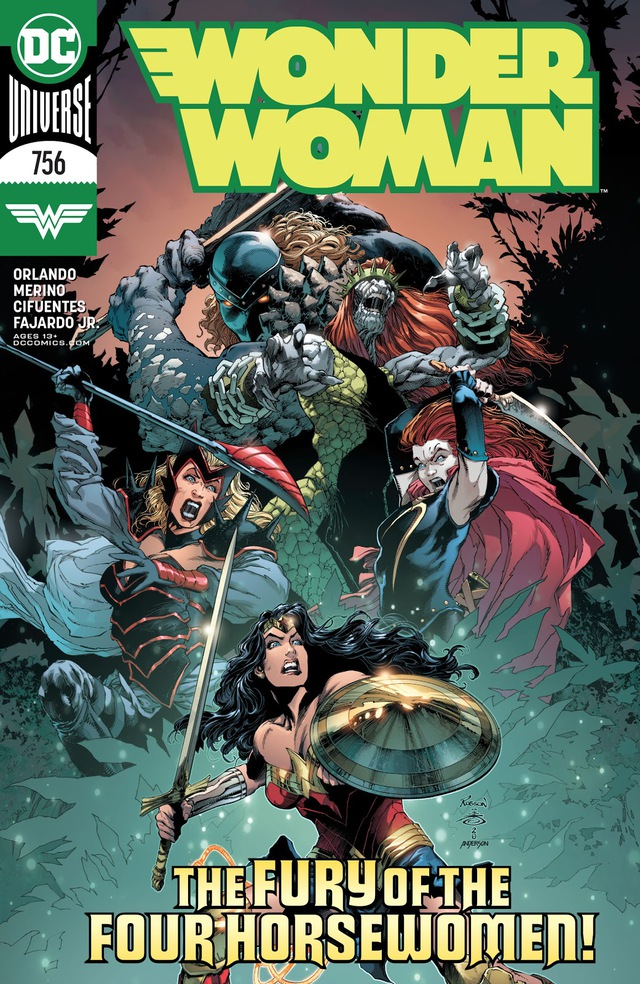DC ra mắt Four Horsewomen, bốn kẻ thù mới mà cũ của Wonder Woman - Ảnh 1.