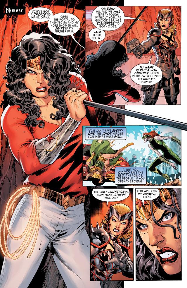 DC ra mắt Four Horsewomen, bốn kẻ thù mới mà cũ của Wonder Woman - Ảnh 2.