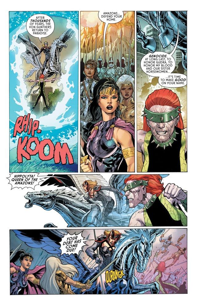 DC ra mắt Four Horsewomen, bốn kẻ thù mới mà cũ của Wonder Woman - Ảnh 6.