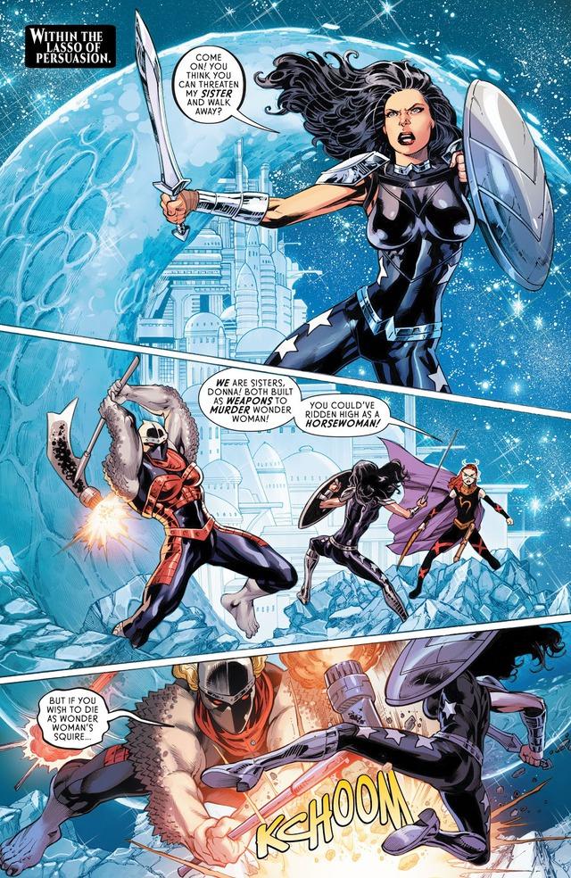 DC ra mắt Four Horsewomen, bốn kẻ thù mới mà cũ của Wonder Woman - Ảnh 5.