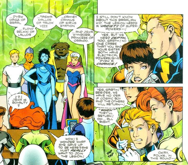 DC giới thiệu gia đình của Arm-Fall-Off Boy, siêu anh hùng vô dụng bậc nhất của hãng - Ảnh 3.