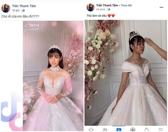 Đăng ảnh mặc áo cưới, hot girl trứng rán cần mỡ bất ngờ bị cộng đồng mạng tìm ra phiên bản chưa chỉnh sửa - Ảnh 2.