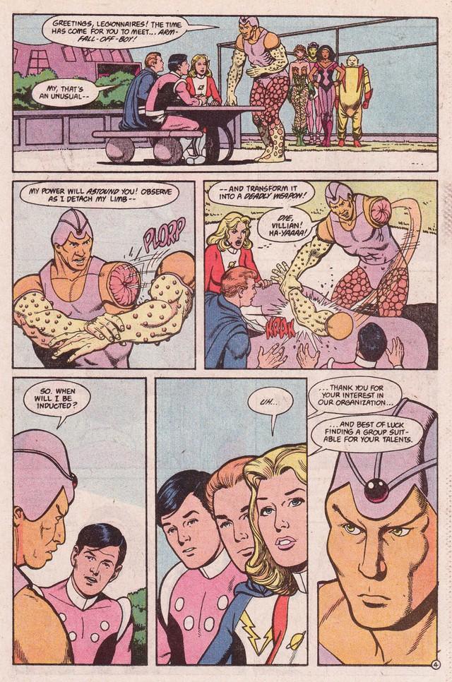 DC giới thiệu gia đình của Arm-Fall-Off Boy, siêu anh hùng vô dụng bậc nhất của hãng - Ảnh 1.
