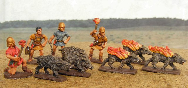Người La Mã từng dùng lợn lửa để chiến đấu? - Ảnh 2.