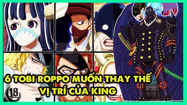 One Piece: Được Oda giới thiệu rất hoành tráng, nhưng giờ đây Tobi Roppo cũng bắt đầu đầu bật haki tấu hài - Ảnh 1.
