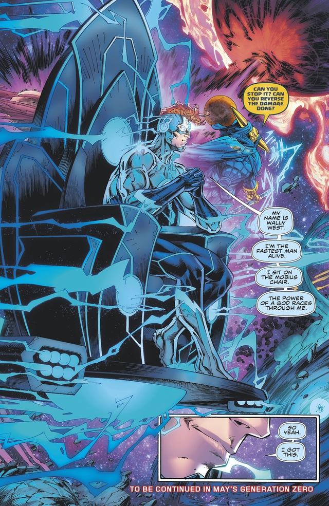 Batman Who Laughs sẽ tìm cách chiếm lấy quyền năng Dr. Manhattan của Flash - Ảnh 3.