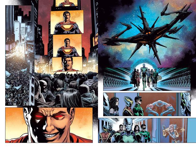 Owlman lật kèo, gia nhập quân đoàn Đa vũ trụ DC nhằm chống lại Perpetua - Ảnh 1.