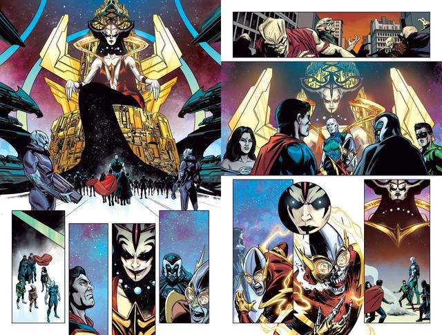 Owlman lật kèo, gia nhập quân đoàn Đa vũ trụ DC nhằm chống lại Perpetua - Ảnh 2.