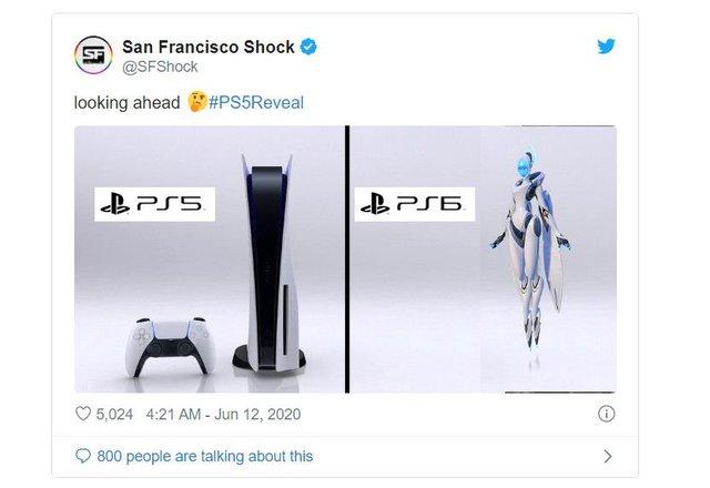 Sau khi ra mắt, PS5 trở thành meme hot nhất thế giới trong 24 giờ qua - Ảnh 7.