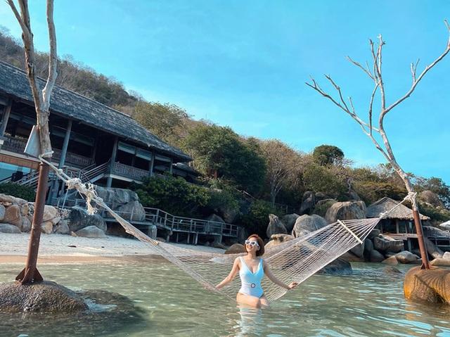 Hot girl Trâm Anh lần đầu đăng ảnh bikini nóng bỏng sau biến cố - Ảnh 3.