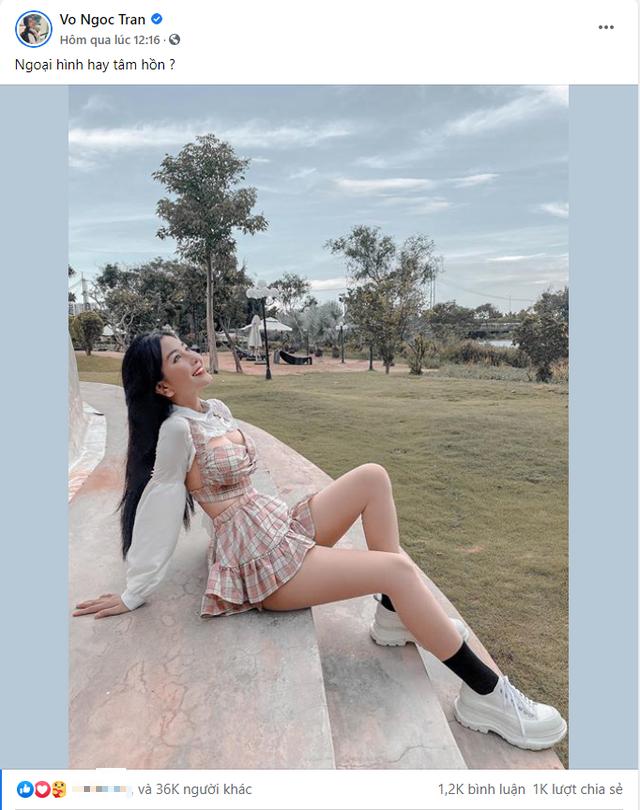 Đăng ảnh gợi cảm rồi hỏi khó Chọn ngoại hình hay tâm hồn, hot girl Việt khiến cộng đồng mạng nhức não - Ảnh 1.
