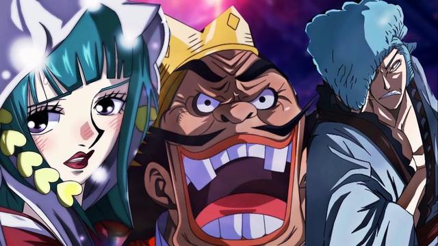 One Piece: Denjiro khoe thân hình vạm vỡ cực giống Râu Trắng, liệu Cửu Hồng Bao này có chết sau trận chiến Wano? - Ảnh 1.