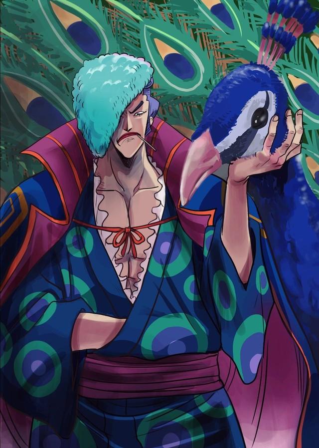 One Piece: Denjiro khoe thân hình vạm vỡ cực giống Râu Trắng, liệu Cửu Hồng Bao này có chết sau trận chiến Wano? - Ảnh 3.