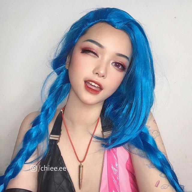 Ngất ngây với 1001 biểu cảm cute phô mai que của Jinx phiên bản Việt được hóa thân bởi Thánh nữ makeup - Ảnh 10.