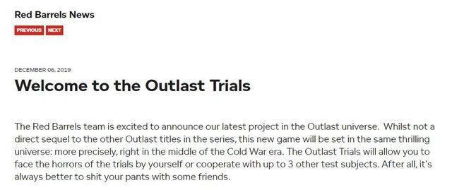 Mang tiếng là siêu phẩm, thế nhưng The Outlast Trials bị nhiều game thủ đánh giá là không xứng tầm để coi là phần 3 của series Outlast - Ảnh 3.