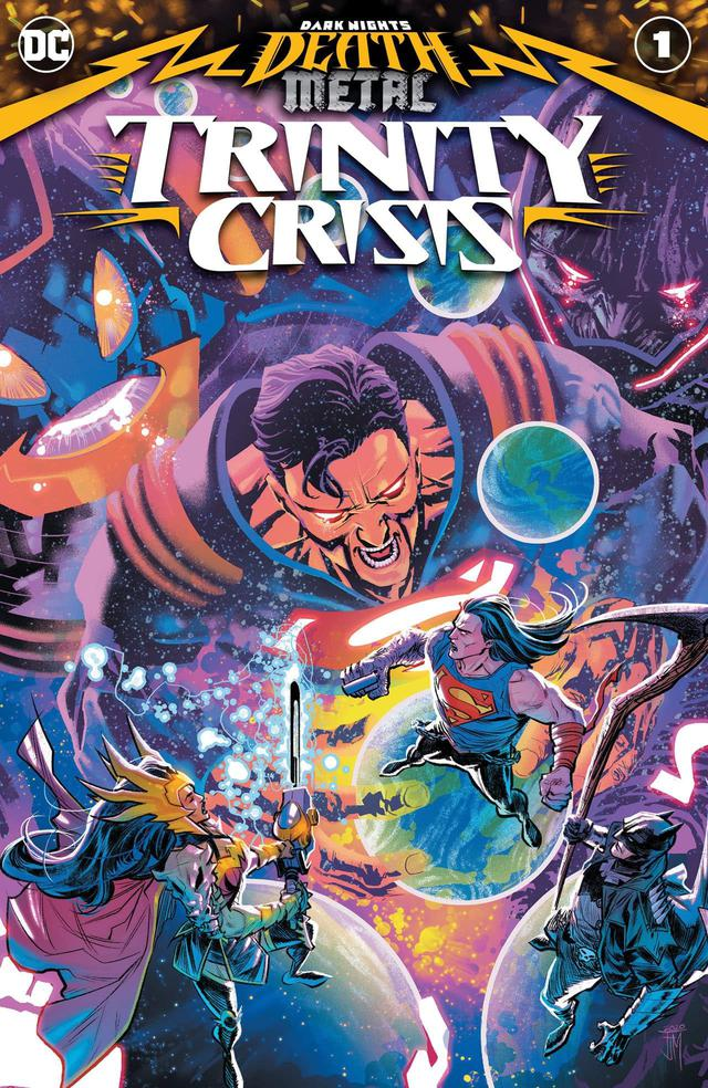 DC ra mắt bản đồ Metalverse - vũ trụ DC mới trong sự kiện DARK NIGHTS: DEATH METAL - Ảnh 6.