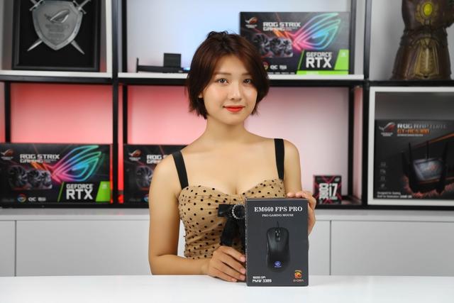 Chuột gaming E-Dra EM660 Pro FPS: Hàng tuyển cho anh em yêu thích game bắn súng - Ảnh 1.