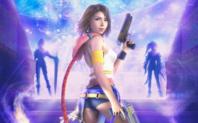 Loạt hình nền PC tuyệt đẹp về các nữ nhân vật game nóng bỏng - Ảnh 7.