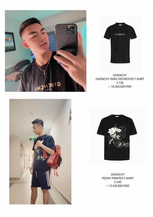 Quang Cuốn, Gầy Best Leesin - Bóc mác bộ sưu tập hàng hiệu của hai nam streamer trẻ nổi tiếng làng LMHT Việt - Ảnh 3.