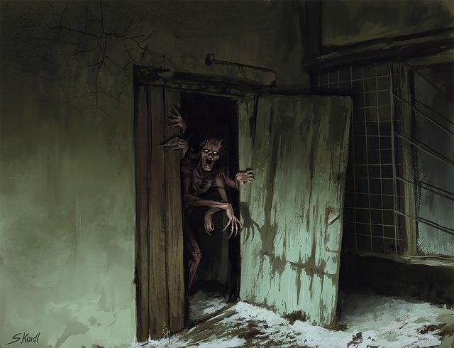 Những tác phẩm kinh dị của hoạ sĩ Stefan Koidl: Khi những cơn ác mộng sống lại trong tranh - Ảnh 4.