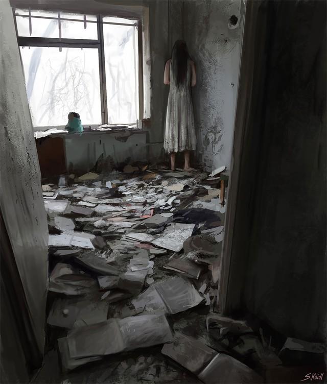 Những tác phẩm kinh dị của hoạ sĩ Stefan Koidl: Khi những cơn ác mộng sống lại trong tranh - Ảnh 6.