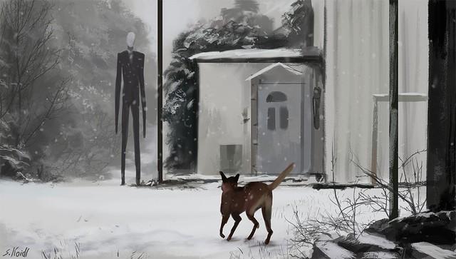 Những tác phẩm kinh dị của hoạ sĩ Stefan Koidl: Khi những cơn ác mộng sống lại trong tranh - Ảnh 8.