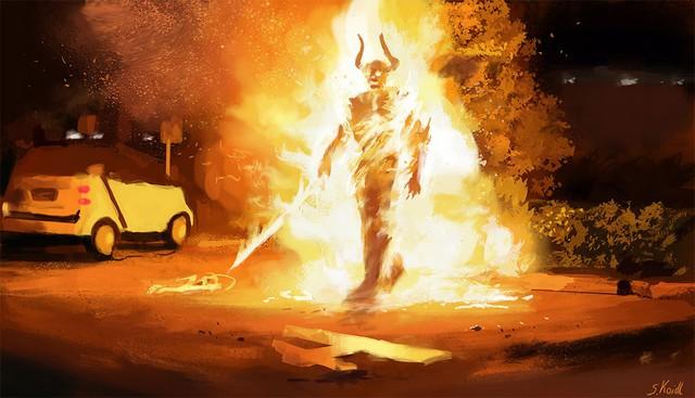 Những tác phẩm kinh dị của hoạ sĩ Stefan Koidl: Khi những cơn ác mộng sống lại trong tranh - Ảnh 9.