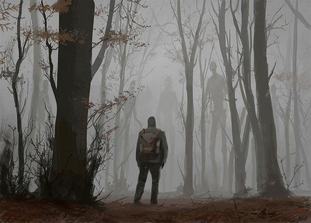 Những tác phẩm kinh dị của hoạ sĩ Stefan Koidl: Khi những cơn ác mộng sống lại trong tranh - Ảnh 14.