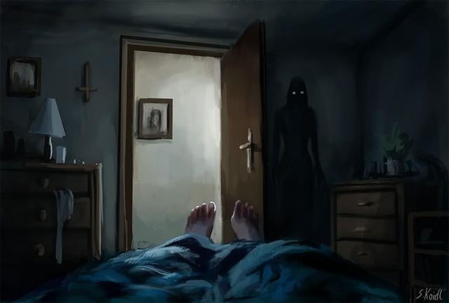 Những tác phẩm kinh dị của hoạ sĩ Stefan Koidl: Khi những cơn ác mộng sống lại trong tranh - Ảnh 15.