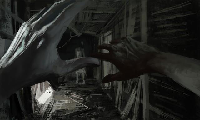 Những tác phẩm kinh dị của hoạ sĩ Stefan Koidl: Khi những cơn ác mộng sống lại trong tranh - Ảnh 12.