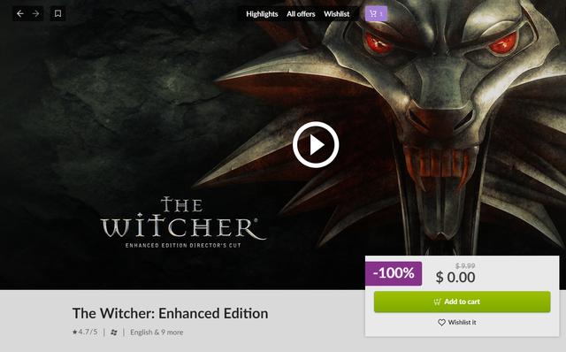 Hướng dẫn tải The Witcher: Enhanced Edition miễn phí 100% - Ảnh 7.