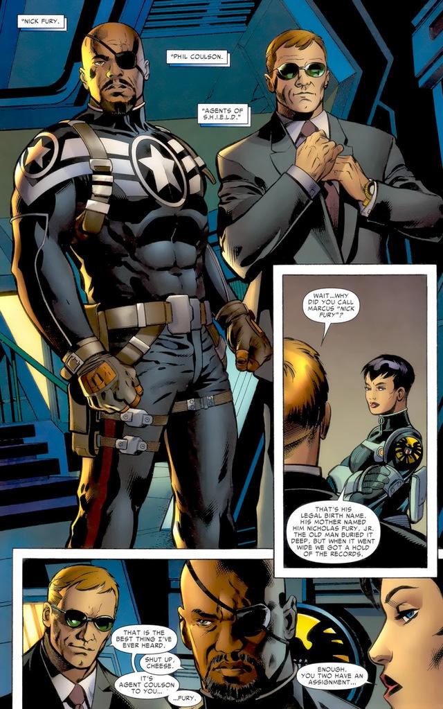 Nick Fury vs. Phil Coulson: Đại chiến siêu điệp viên của vũ trụ Marvel - Ảnh 2.