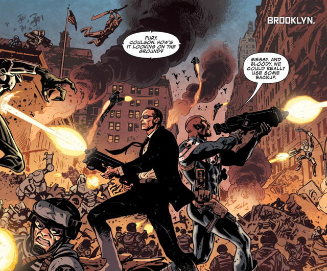 Nick Fury vs. Phil Coulson: Đại chiến siêu điệp viên của vũ trụ Marvel - Ảnh 1.