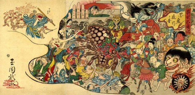 Bách quỷ dạ hành: Những con quỷ nổi danh trong truyền thuyết của Nhật Bản - Ảnh 1.