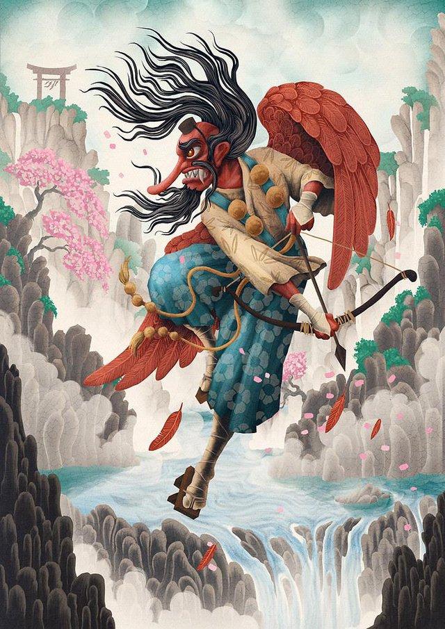 Bách quỷ dạ hành: Những con quỷ nổi danh trong truyền thuyết của Nhật Bản - Ảnh 3.