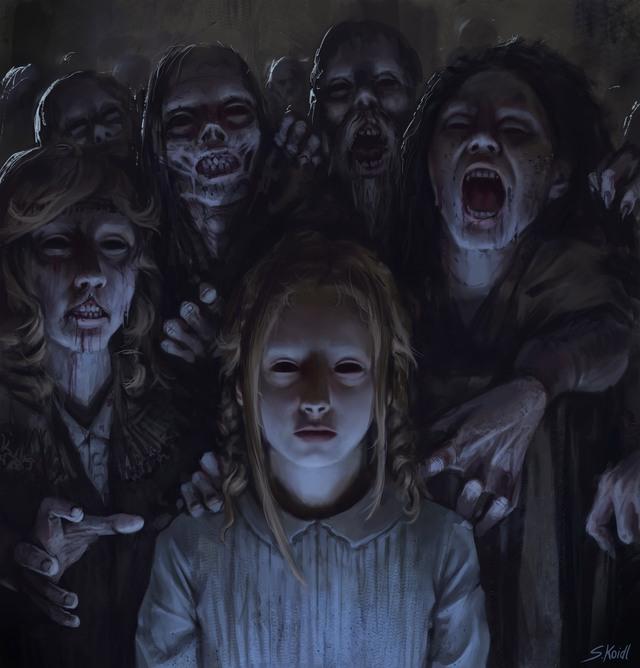 Những tác phẩm kinh dị của hoạ sĩ Stefan Koidl: Khi những cơn ác mộng sống lại trong tranh - Ảnh 20.