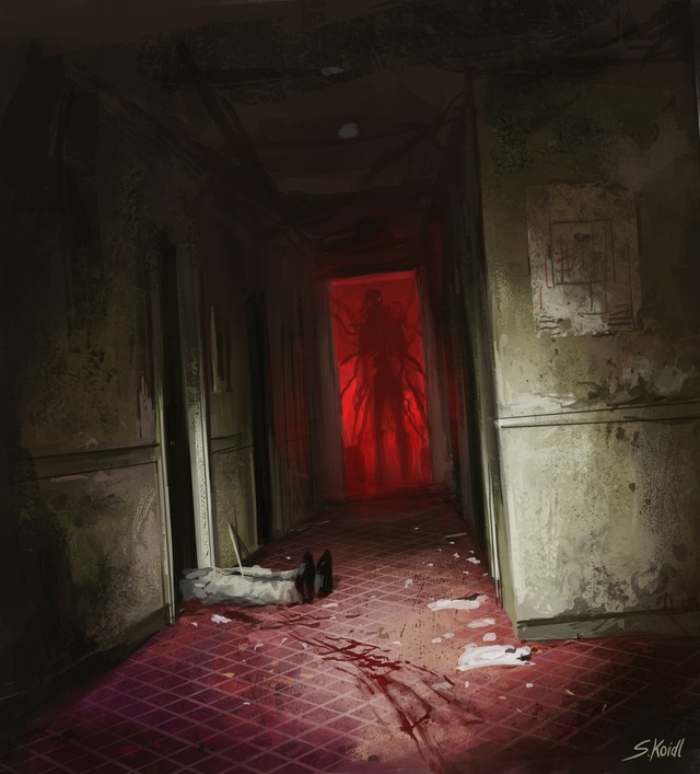 Những tác phẩm kinh dị của hoạ sĩ Stefan Koidl: Khi những cơn ác mộng sống lại trong tranh - Ảnh 22.