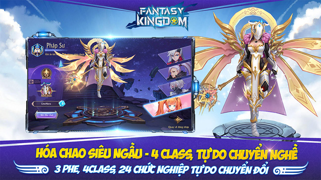 Game nhập vai Fantasy KingDom M - Thánh Địa Huyền Bí đến tay game thủ Việt - Ảnh 2.