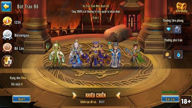 Siêu Vip ANghiaF5NT gây shock khi thách đấu toàn bộ game thủ Toàn Dân Tam Quốc - Ảnh 1.